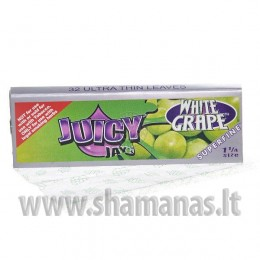 8cm (1/4 dydžio trumpesni) Juicy Jays White Grape