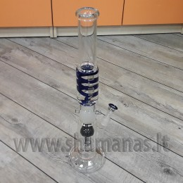 "54cm 2 dalių bongas  'Blaze Glass"" ( Mix13 )"