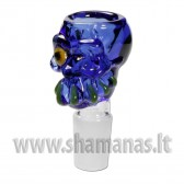 "SG 18 stikline galvute ""Zombie"" blue"
