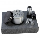 Ø 6.3cm metalinis 4 dalių + dulkių presas (43 04 01)