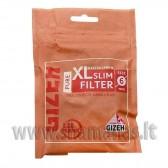 Ilgesni 120vnt Gizeh PURE Slim XL Filter 6mm pločio