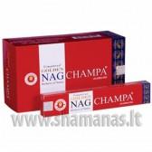15g. Golden Nag Champa smilkalai