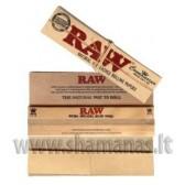 """""""raw connoisseur"""" slim + tipsai  ( rudesni )"""