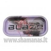 20.6x10.5x1.8cm 'Blaze Glass ' Mixing Tray