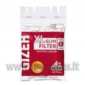 Ilgesni 100vnt Gizeh Slim XL Filter 6mm pločio