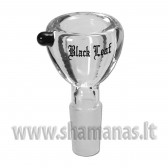 SG14 Glass Bowl 'Black Leaf' ( E61 )