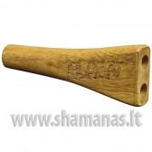 Raw duoble barrel cig holder KING SIZE wooden