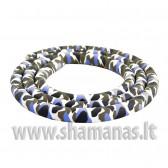 Soft švelni silikoninė žarna be antgalių, Blue & Grey