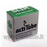 "10vnt mažesni SLIM anglies filtrai ""ActiTube"""