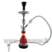 46,5cm kaljanas juodas/raudonas ( Aladin )