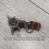 10cm rankų darbo keramikinė pypkutė