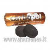 Ø 4cm (10 vnt) CarboPol angliukai