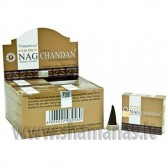 Kūginiai smilkalai Golden Nag Chandan (15g.)