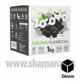 """Naturalūs kokoso angliukai """"ZocoMo 26 mm"""" 1 kg"""