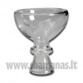 Ø 7.9cm Stiklinė kaljano taurelė (02 18 09)
