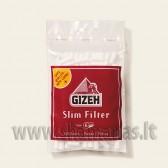 120vnt Gizeh Slim Filter 6mm pločio