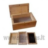 12x7cm Wood Sifter Box Magnetic (Small size)