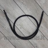 Soft švelni silikoninė kaljano žarna ( 3 dalių )