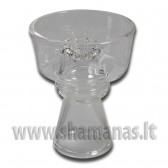 Ø 5.9cm Stiklinė kaljano taurelė (02 18 08)
