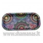 20.6x10.5x1.8cm 'Mandala' Mixing Tray