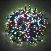 3.5m, 300 LED + greitas mirksėjimas, spalvota