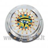 Stiklinė tradicinė peleninė 'Horus Eye'