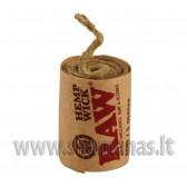 3m spec virvutė bongo uzdegimui (raw hemp wick)