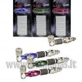 Rinkinukas : 1 pypkė + 1 adapteris + 10 filtrų anglies