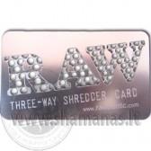 Kreditines korteles dydzio RAW (3 dydziu skylutes)