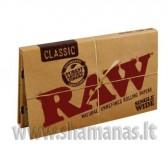 Raw Single Wide dydžio (100 vnt) (Rawsw dbl)