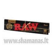 11cm Raw Black King size slim
