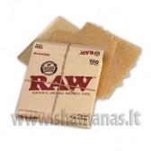 100vnt 8x8cm popiereliu (raw parch square 100)