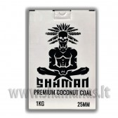 Kokosiniai Shaman 1kg . 72vnt / 25x25x25mm