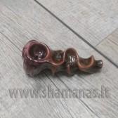 9.5cm rankų darbo keramikinė pypkutė